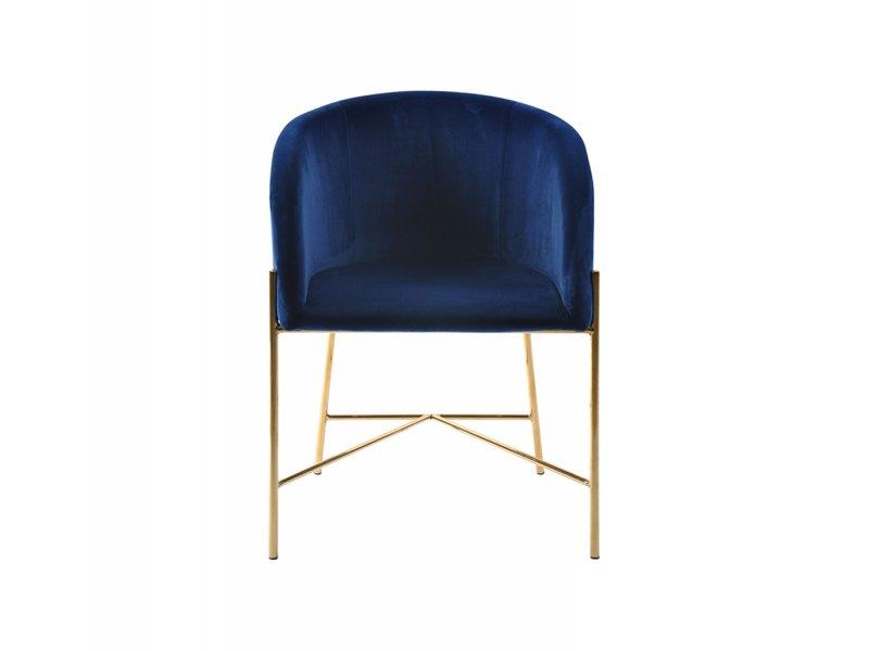 Sedia con braccioli Bobbio - v26