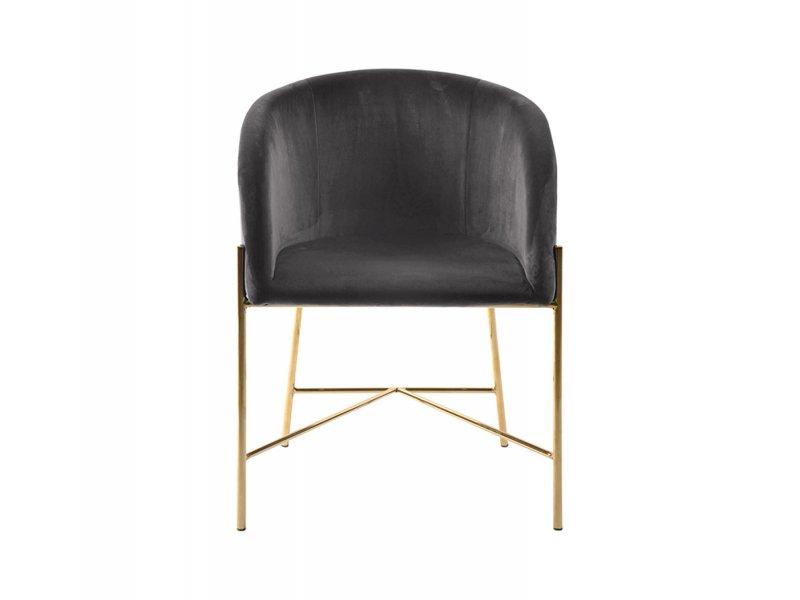 Sedia con braccioli Bobbio - v34