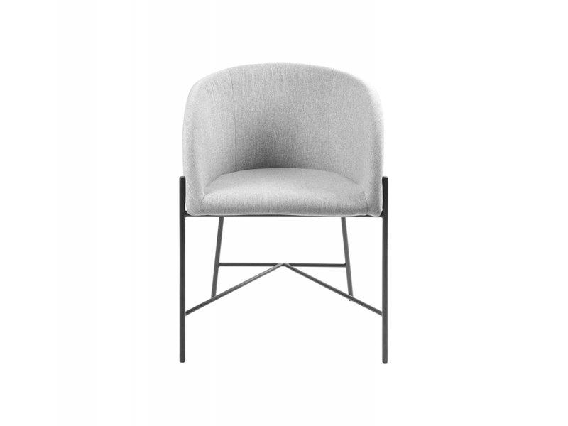 Sedia con braccioli Bobbio - v11