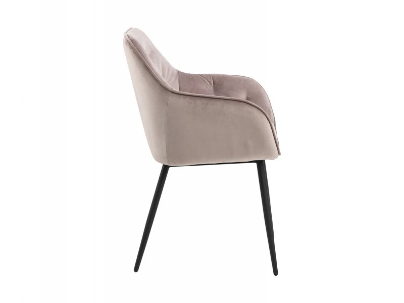 Sedia con braccioli Poffabro - v12