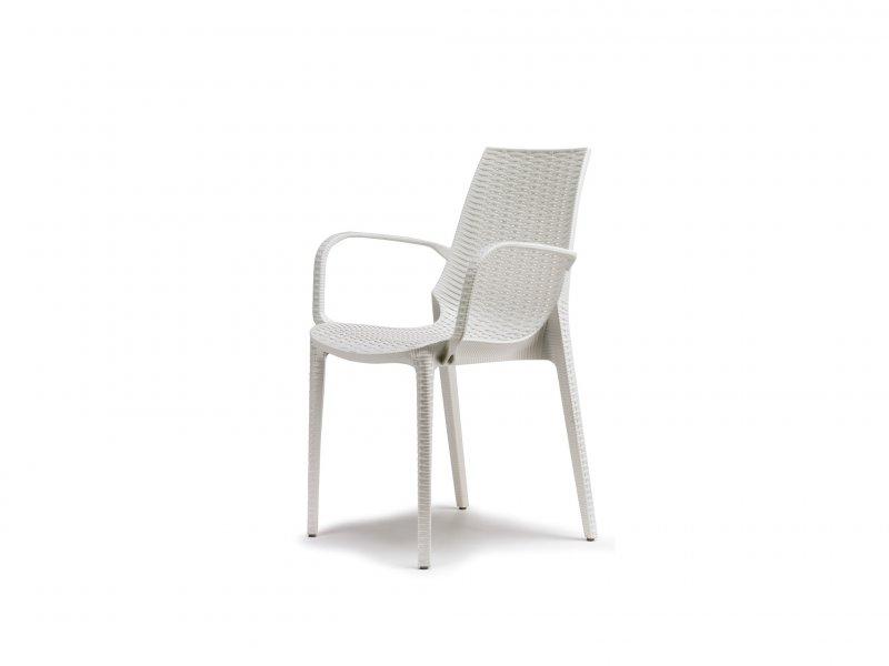 Sedia Con Braccioli Lucrezia - v5