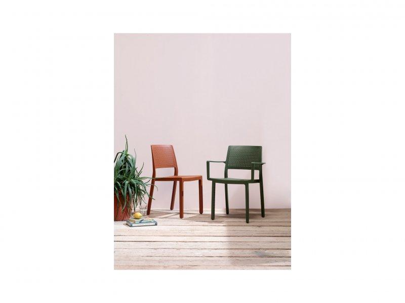 Sedia Con Braccioli Emi - v25