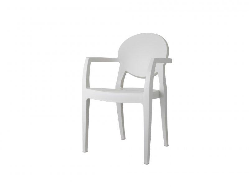 Sedia Con Braccioli Igloo Tecnopolimero - v5