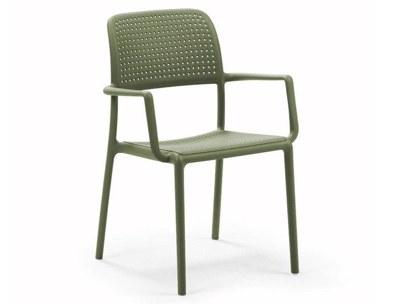 Sedia con braccioli Bora -2