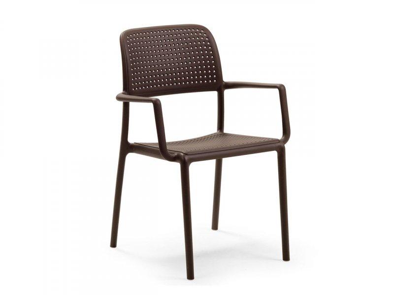Sedia con braccioli Bora - v4