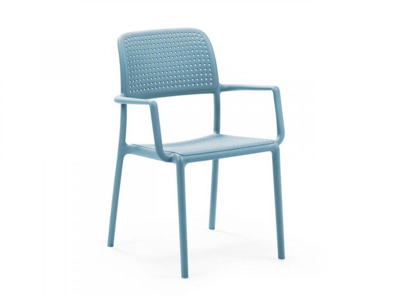 Sedia con braccioli Bora - v5
