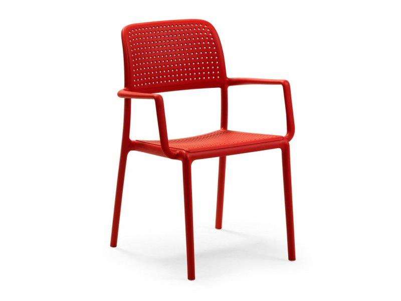 Sedia con braccioli Bora - v6
