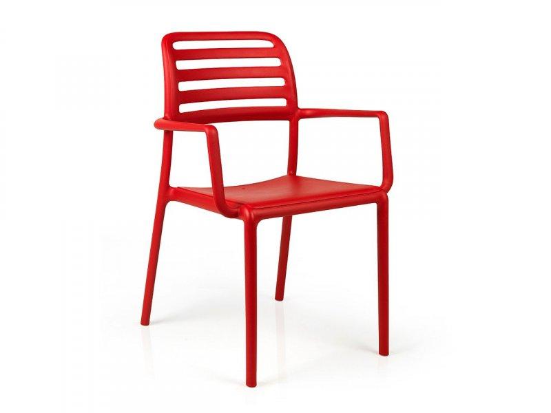 Sedia con braccioli Costa - v6