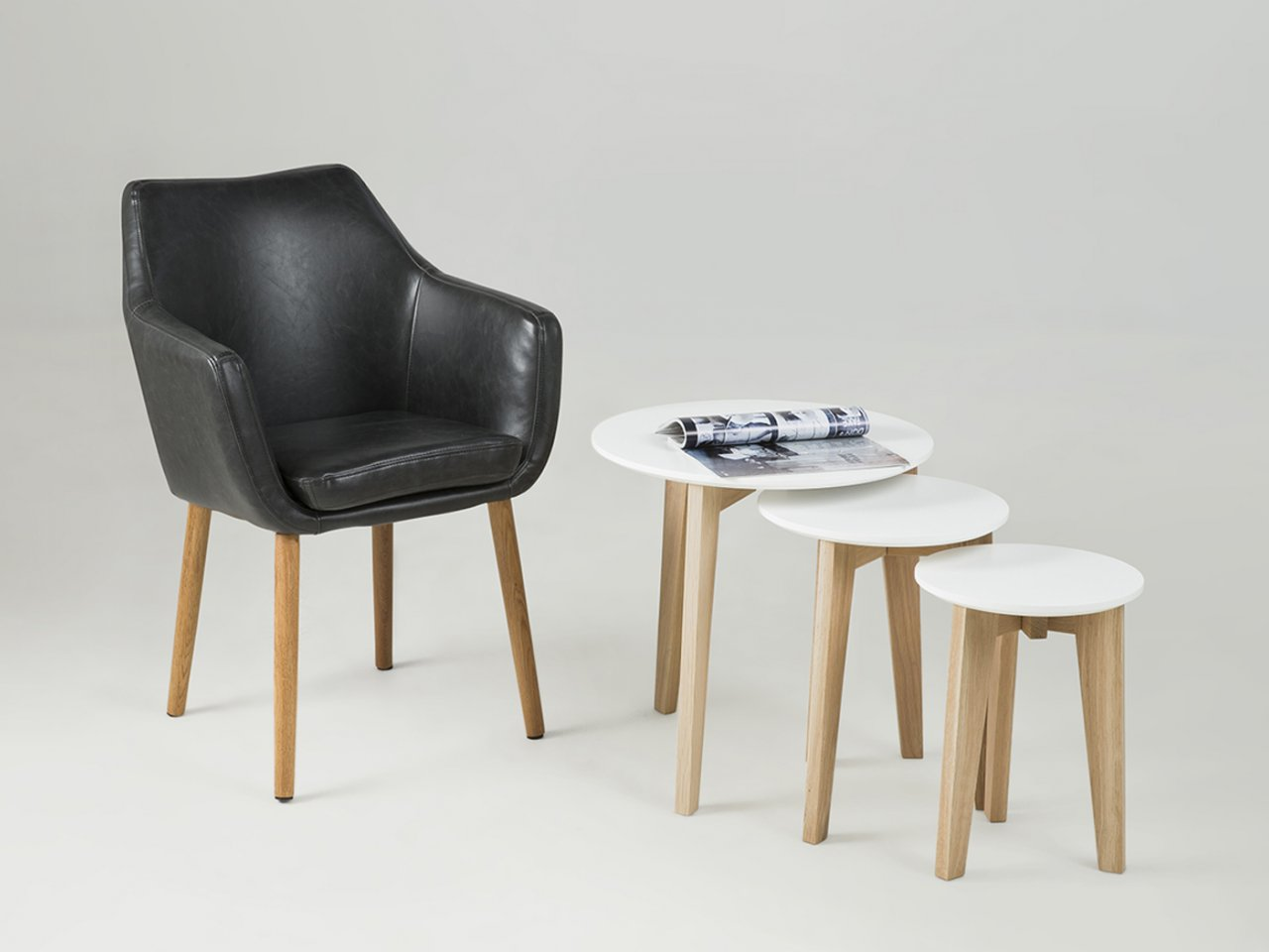 Sedia con braccioli Finalborgo - v37
