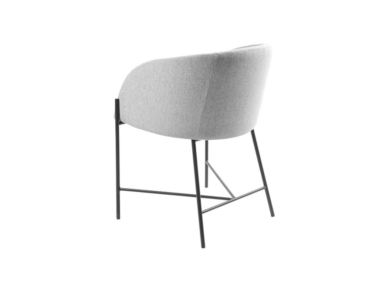 Sedia con braccioli Bobbio - v14