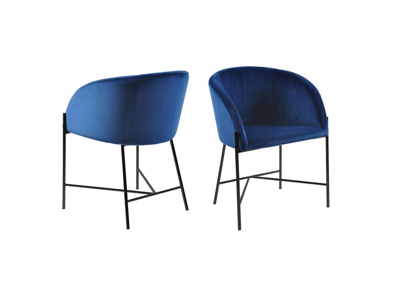 Sedia con braccioli Bobbio - v15