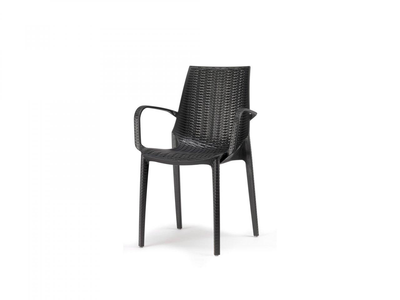 Sedia Con Braccioli Lucrezia -2