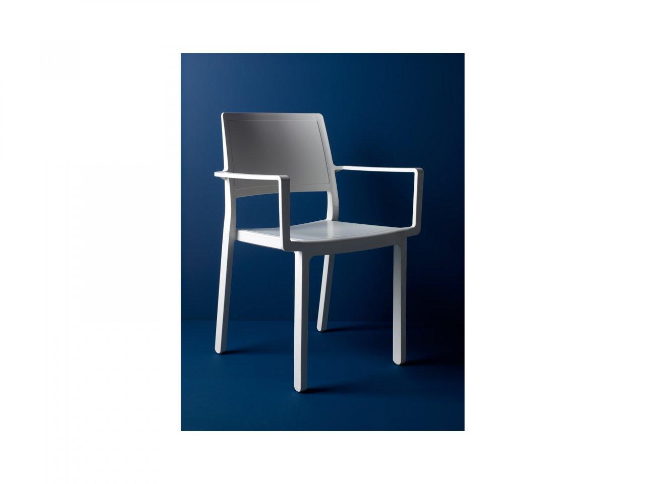 Sedia Con Braccioli Kate - v10