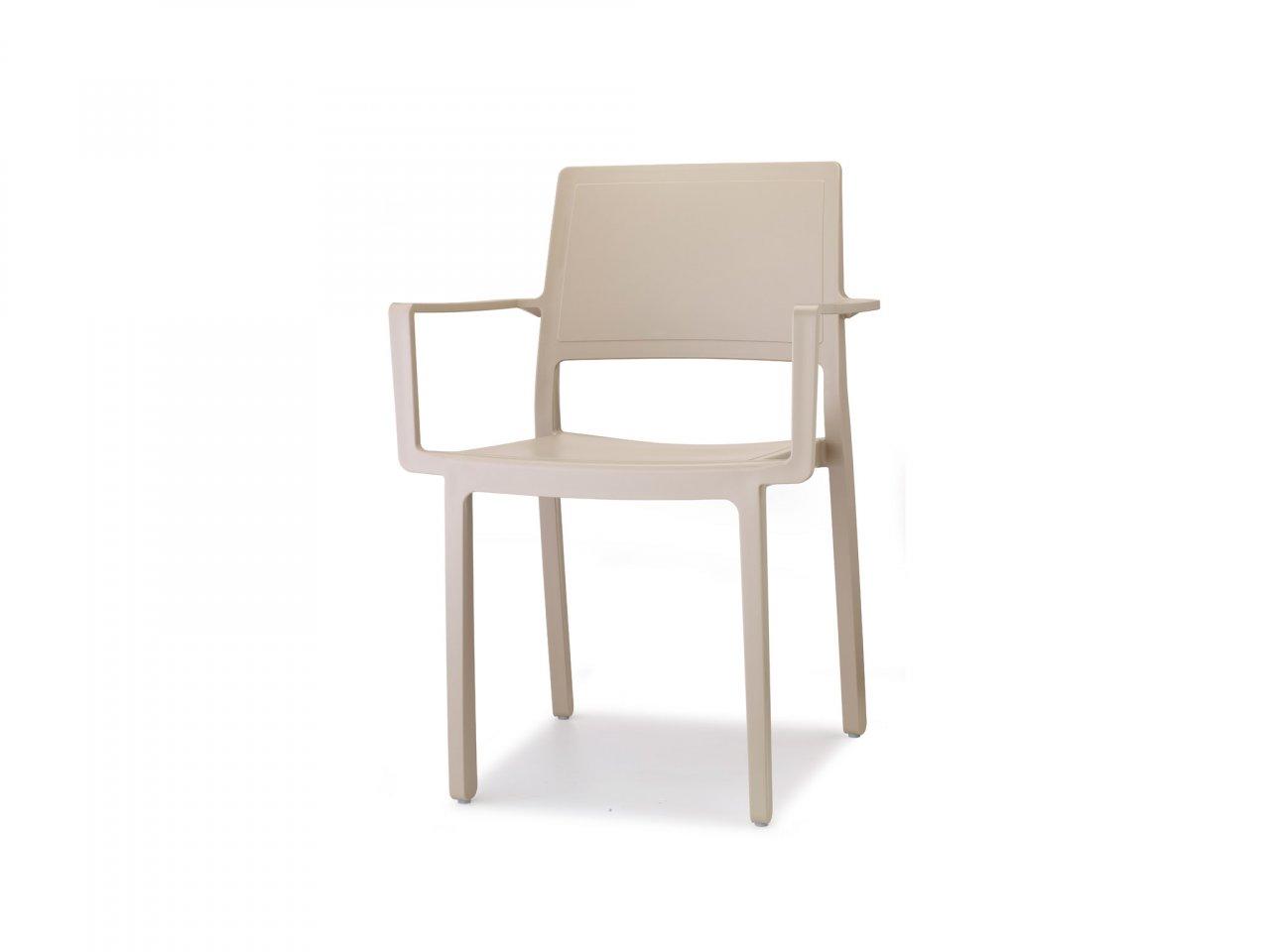 Sedia Con Braccioli Kate - v4