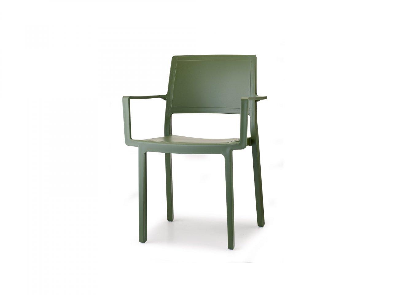 Sedia Con Braccioli Kate - v1