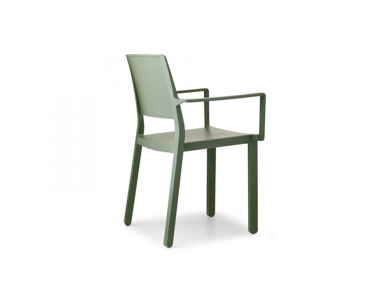 Sedia Con Braccioli Kate - v16