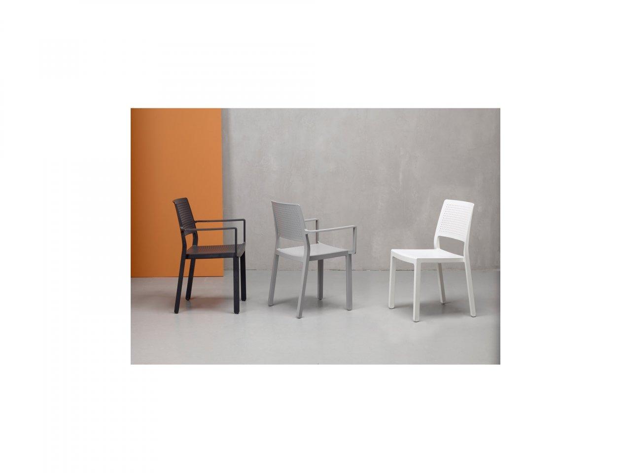 Sedia Con Braccioli Emi - v15