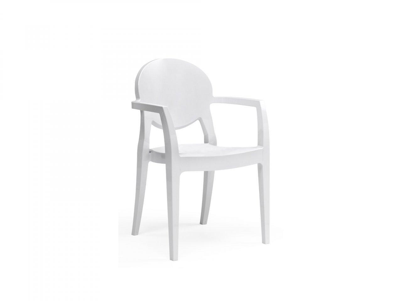 Sedia Con Braccioli Igloo Tecnopolimero - v6