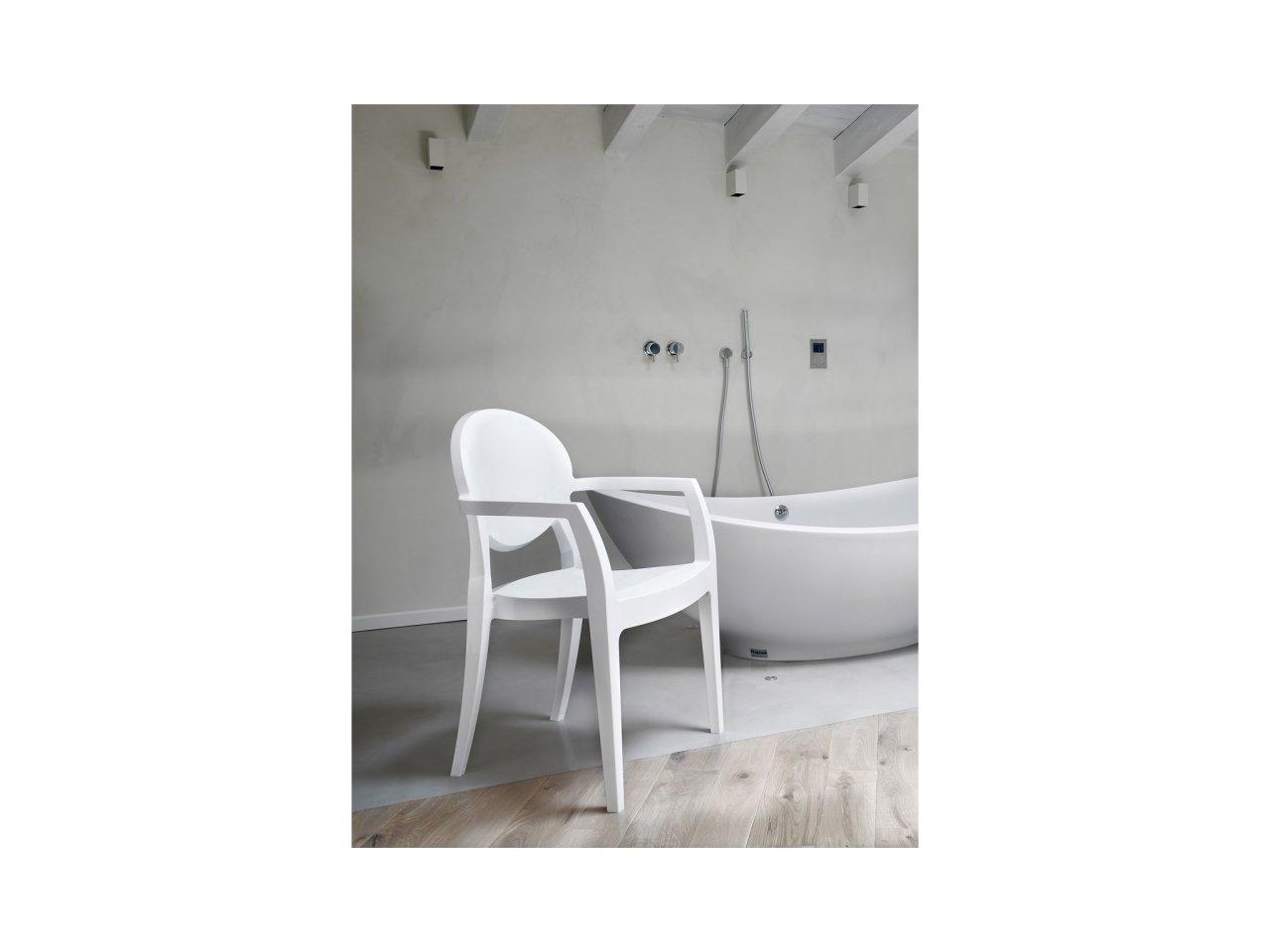 Sedia Con Braccioli Igloo Tecnopolimero - v11