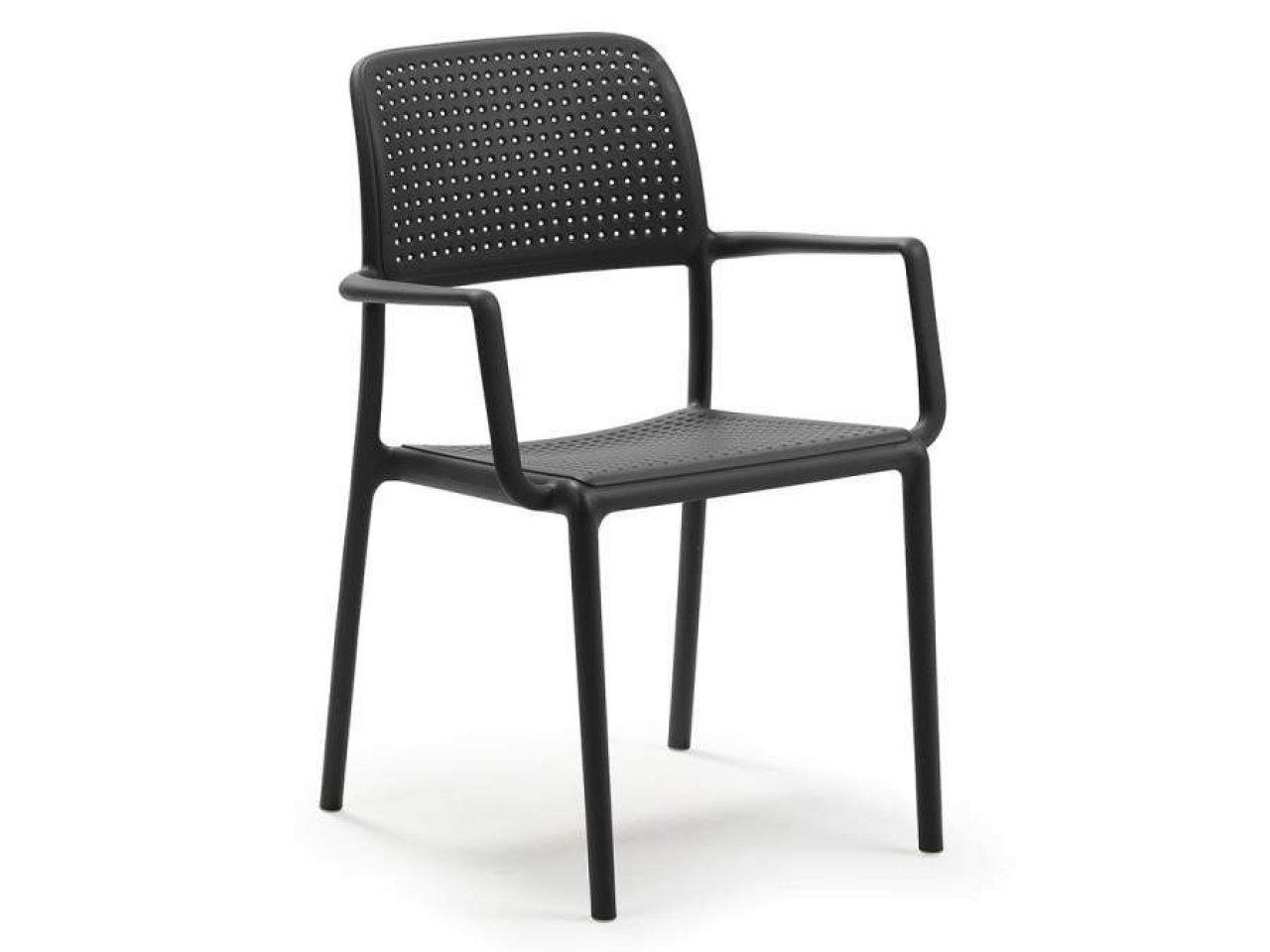 Sedia con braccioli Bora - v7