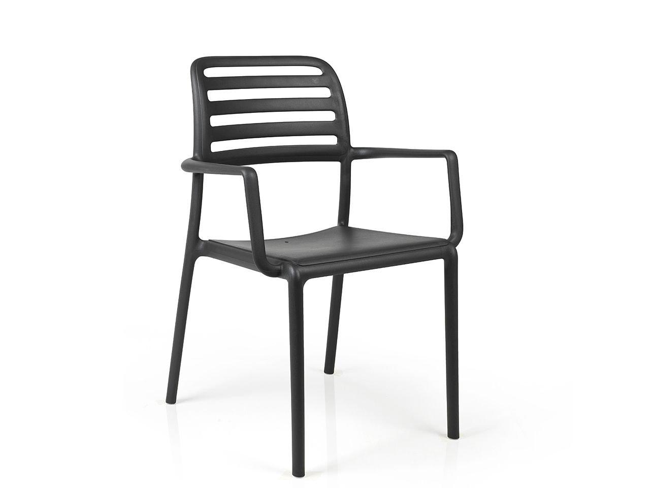 Sedia con braccioli Costa - v2